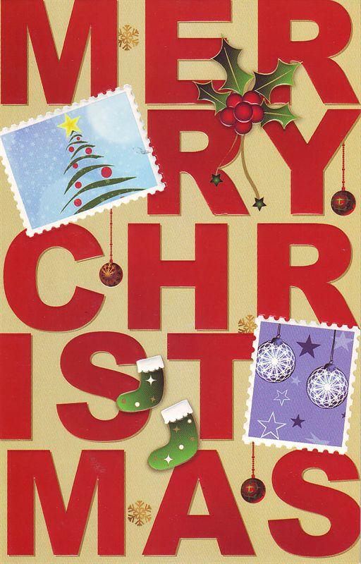Christmas  Card (rch00035)