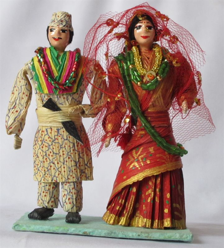 Newly Married Couple 4 Inch Send Valentine S Day Gifts To Nepal