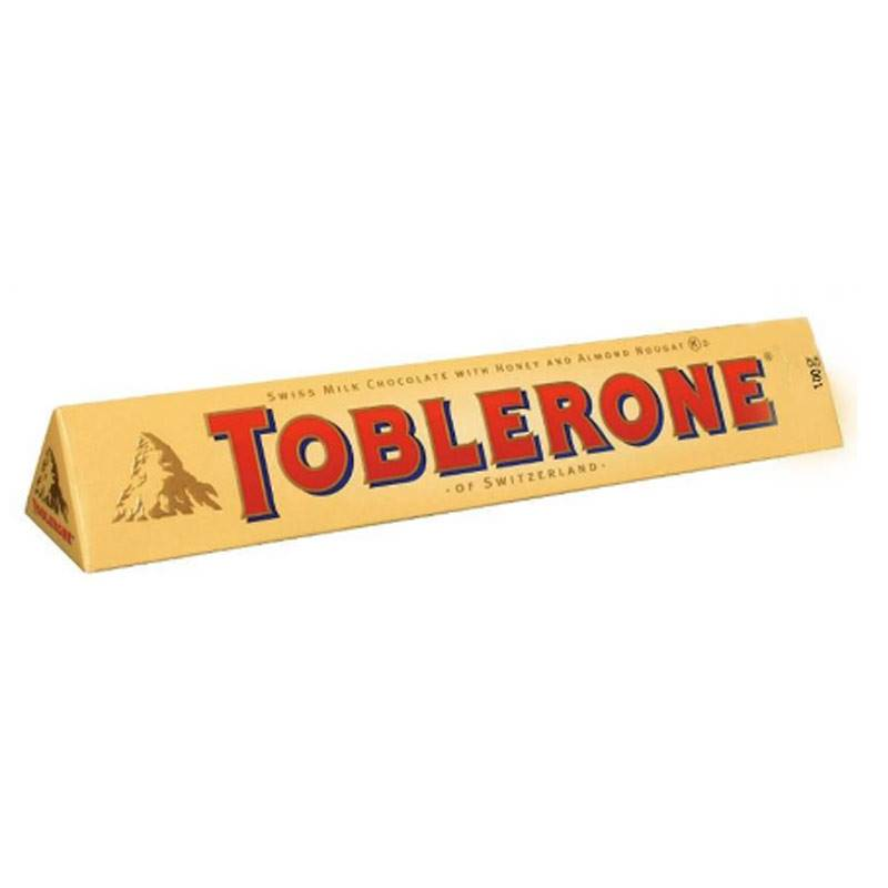 Toblerone Milk Chocolate (100g)