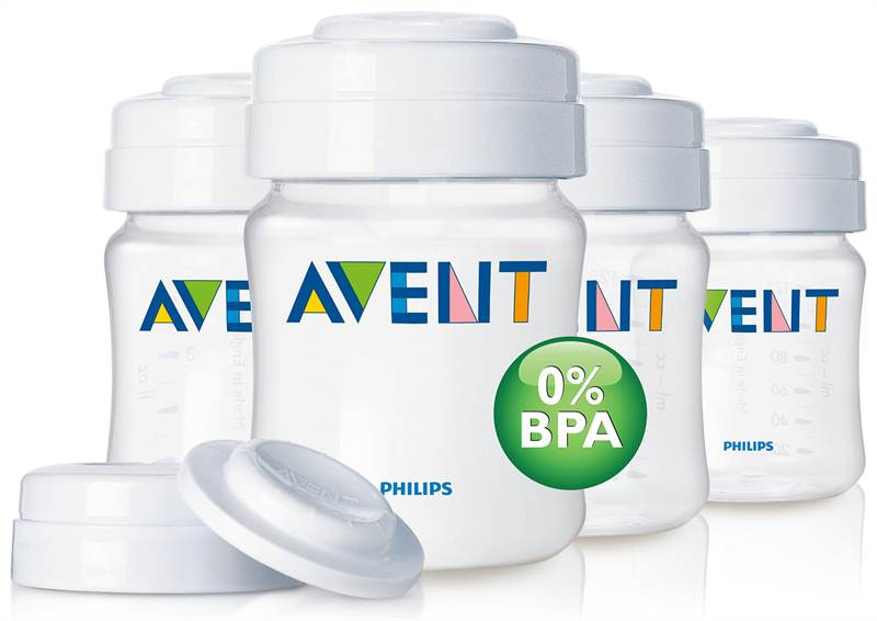 AVENT PES 4 Breast Milk Containers (SCF680/04)