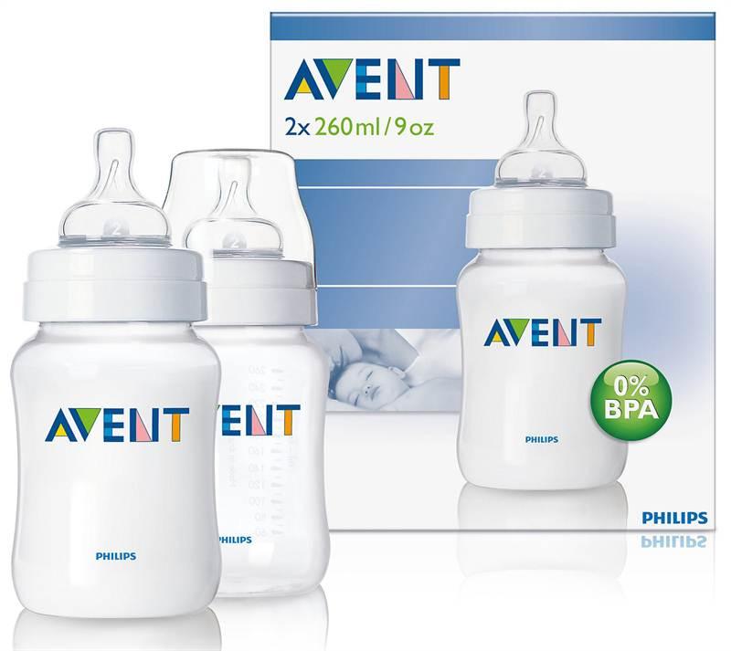 AVENT PP 260ml 2 Feeding Bottles (SCF683/27)