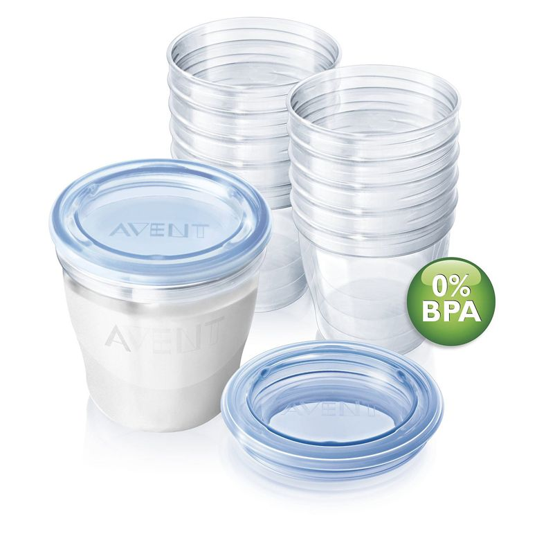 AVENT VIA Breast Milk Storage SCF612/10