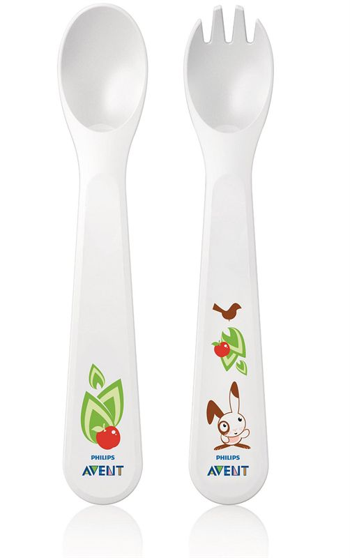 AVENT Toddler Fork & Spoon (SCF712/00)
