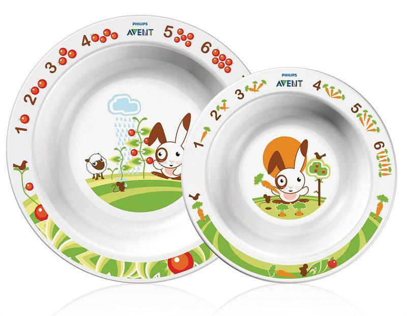 AVENT Toddler 2 Bowl Set (SCF708/00)