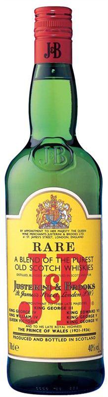 J & B Rare Whisky (1L)
