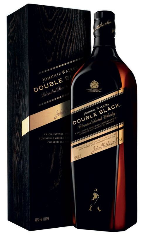 Johnnie Walker Double Black Label Whisky (1L)