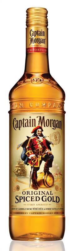Captain Morgan Spiced Gold Rum (1L)