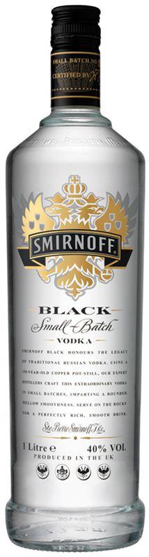 Smirnoff Black Vodka (1L)