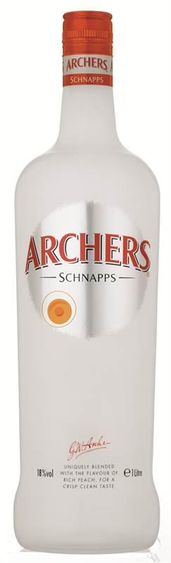 Archers Peach Schnapps Liqueur (1L)
