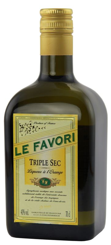 Le Favori Triple Sec Liqueur (700ml)