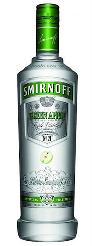 Smirnoff Green Apple Vodka (750ml)