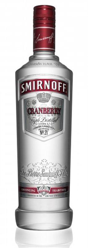 Smirnoff Cranberry Vodka (750ml)