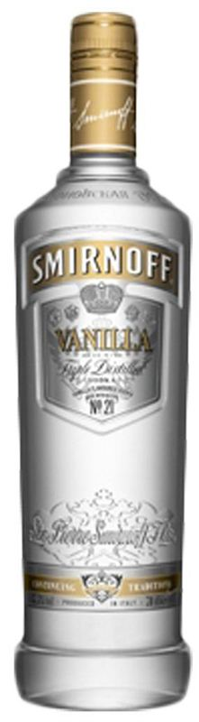 Smirnoff Vanilla Vodka (750ml)