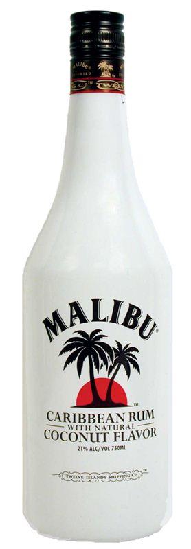 Malibu Caribbean Rum (1L)