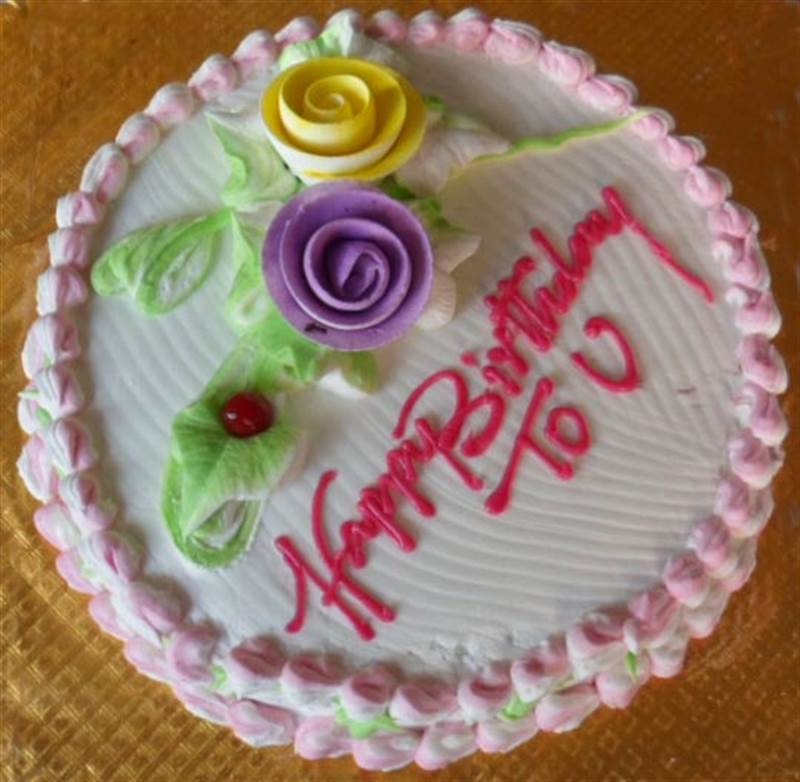 Vanilla Cake (1 Kg) from Paudel Bakery (CKHTD001)