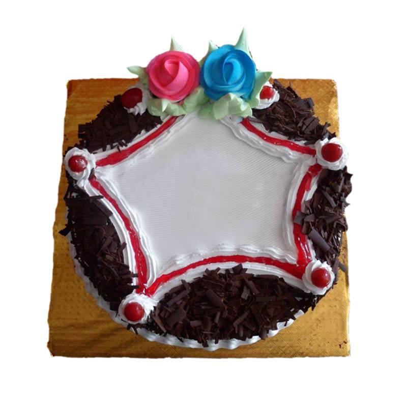 Black Forest Cake (1 Kg) from Paudel Bakery(CHT001)