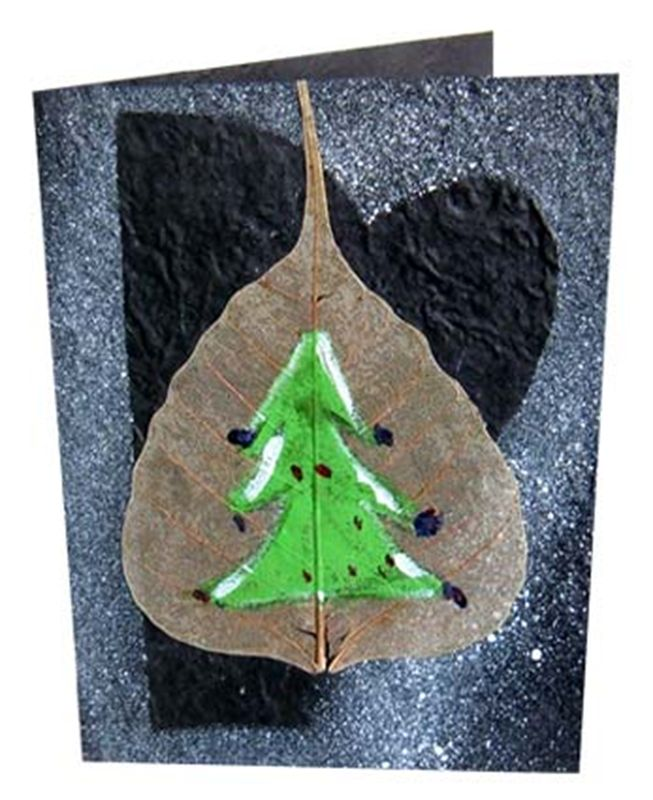 Christmas card from spiny babbler (rch00015)