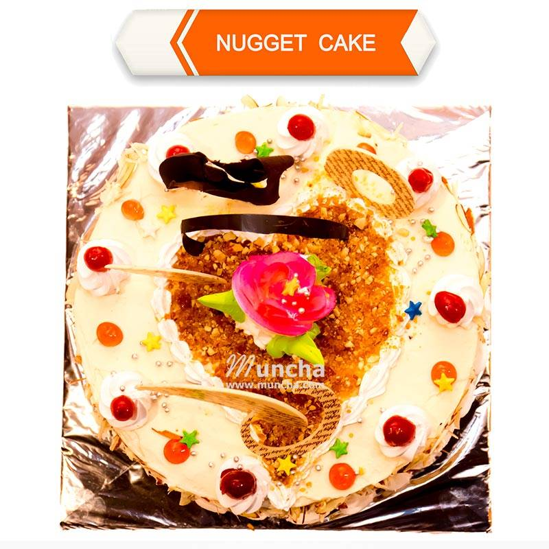 Nuggets Cake (1 Kg) from Hotel Barahi (HBCP0008)