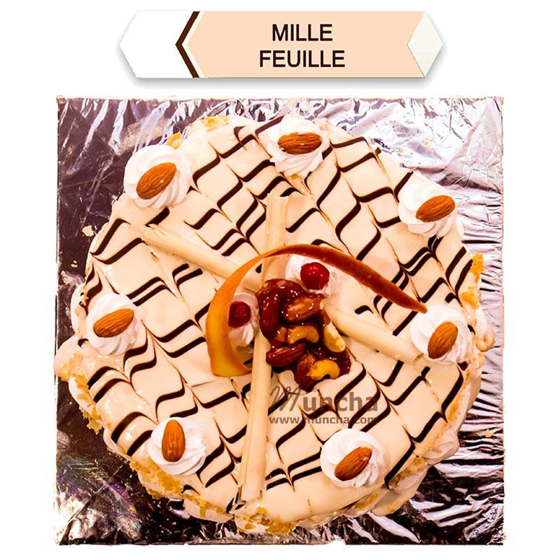 Millie Fuille Cake (1 Kg) from Hotel Barahi (HBCP0009)