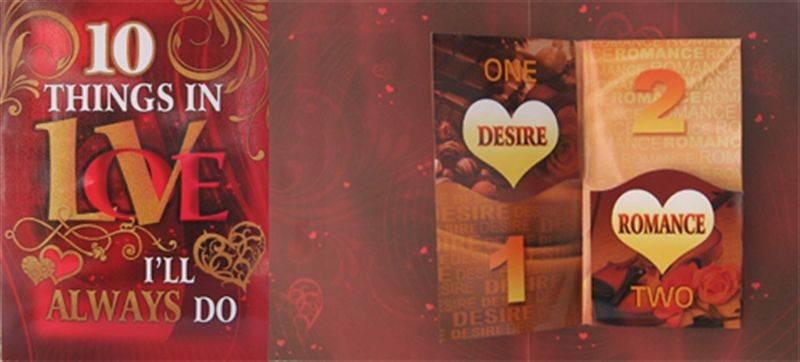 10 Things in Love I'll Always Do Card (rv000098) (GCPKR028)