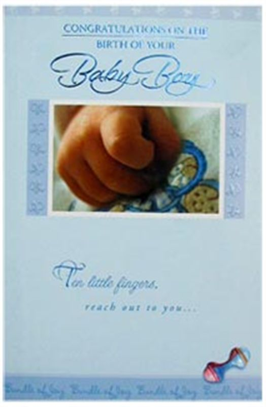 New Baby Card (rd200015)