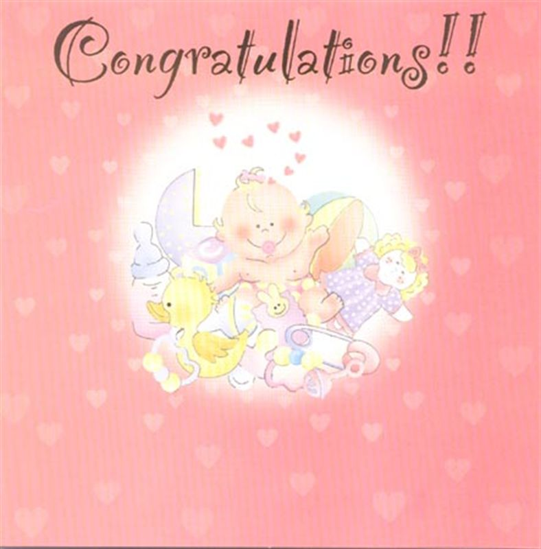 New Baby Card (rd200005)