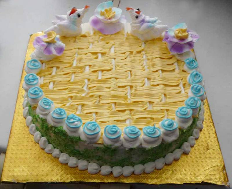 Vanilla Cake (1 Kg) from Paudel Bakery (CKHTD015)