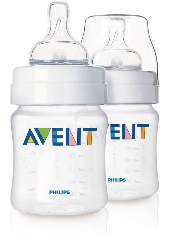 Philips Avent PP 2 Feeding Bottles (SCF680/27) (125 ml)