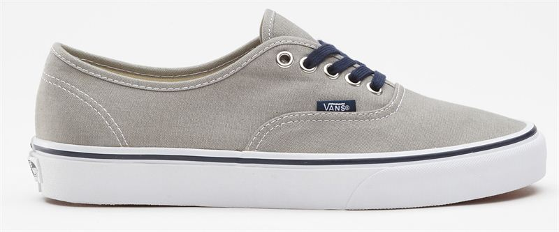 Vans Authentic Mid Grey Navy Shoe (901161) - Send Valentine s Day ... ce3b50e26