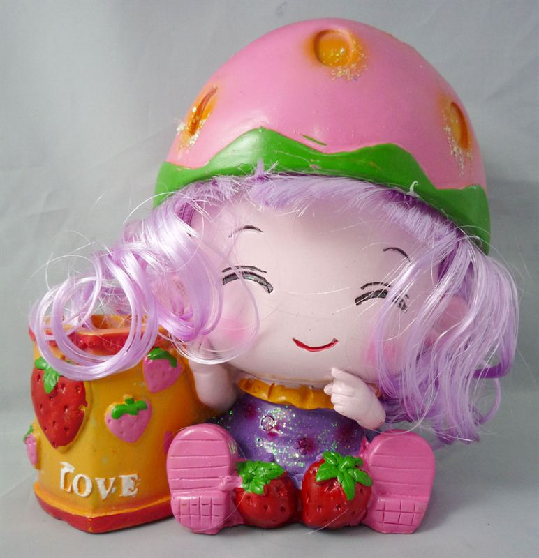 Sweet Strawberry Doll (6 X 7)