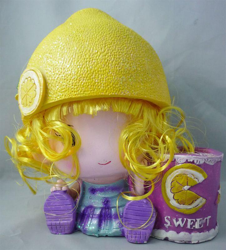 Sweet Lemon Doll (6 X 8)