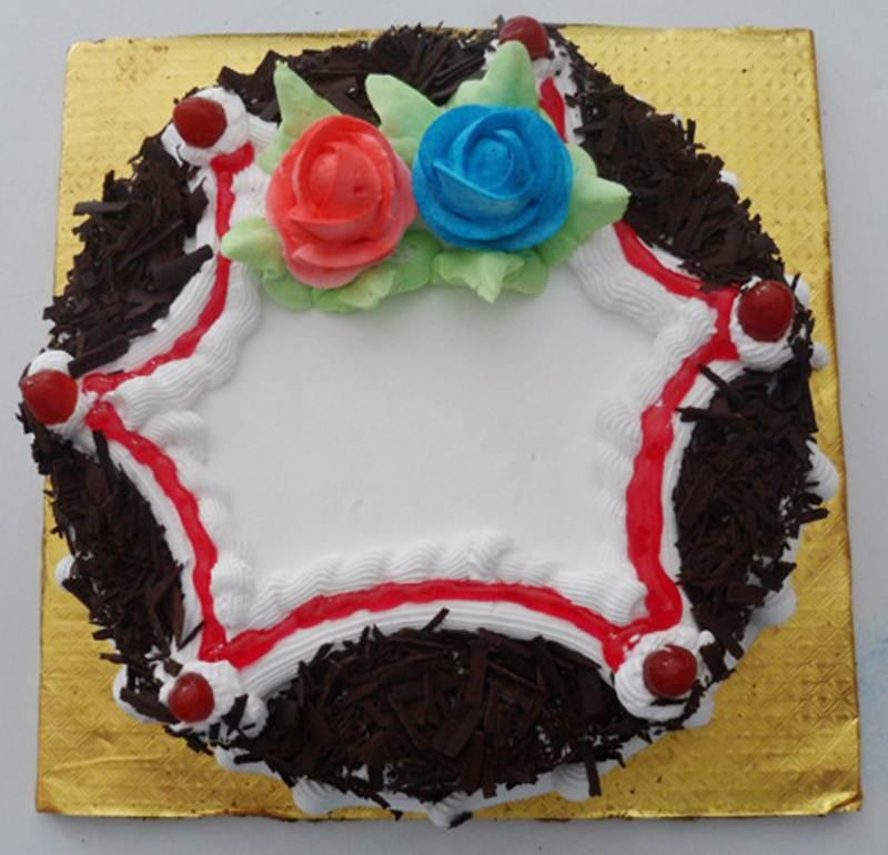 Black Forest Cake (1 Kg) from Hamro Bakery(CHT001)
