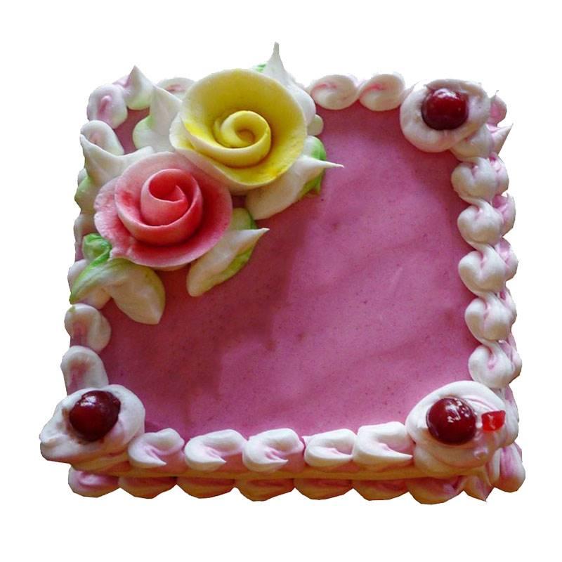Strawberry Cake (1 Kg) from Hamro Bakery (CHT005)