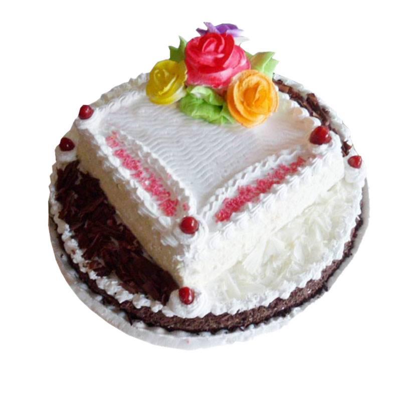 Black & White Forest Cake 3 Pound (CHT007)