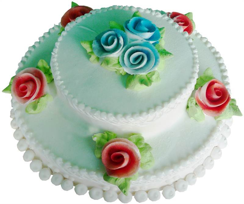 Snow Flower Cake 3 Pound (CHT009)