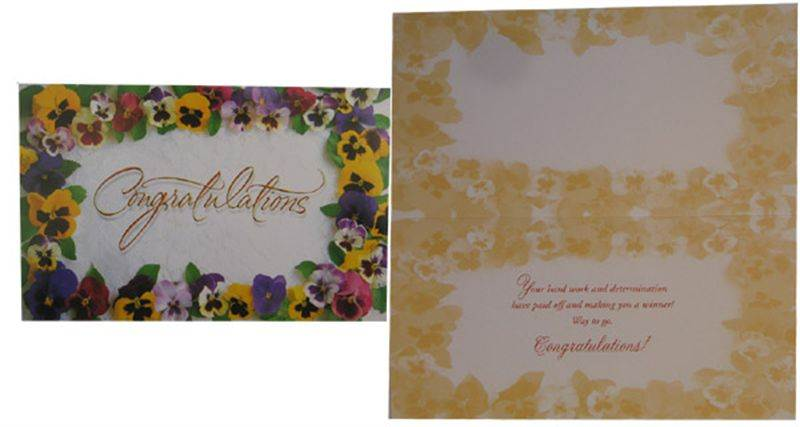 Congratulations Card (GCCHT022)
