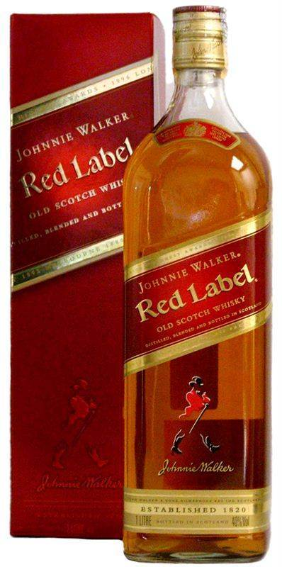Johnnie Walker Red Label Whisky (1L) (CHT001)