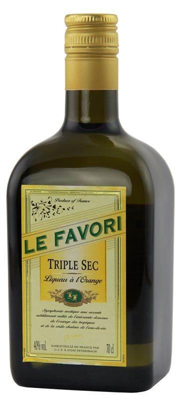 Le Favori Triple Sec Liqueur (700ml) (CHT015)