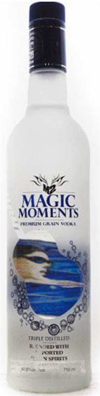 Magic Moments Premium Grain Vodka (750ml)