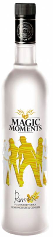 Magic Moments Remix Flavoured Vodka Lemongrass And Ginger (750ml)