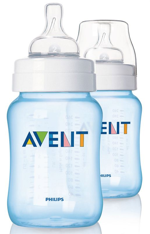 Philips Avent PP 2 Feeding Bottle (SCF685/27) (Blue) (260 ml)