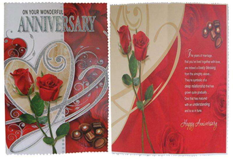 Anniversary Card (GCCHT073)