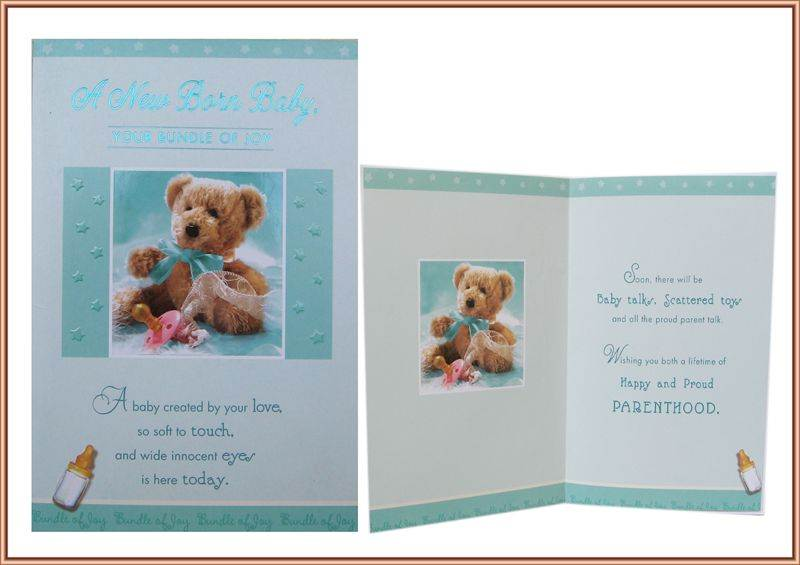 Card for New Baby (GCCHT068)