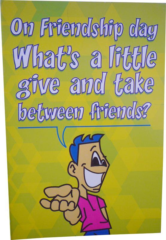 Friend Card (MICDRN008)