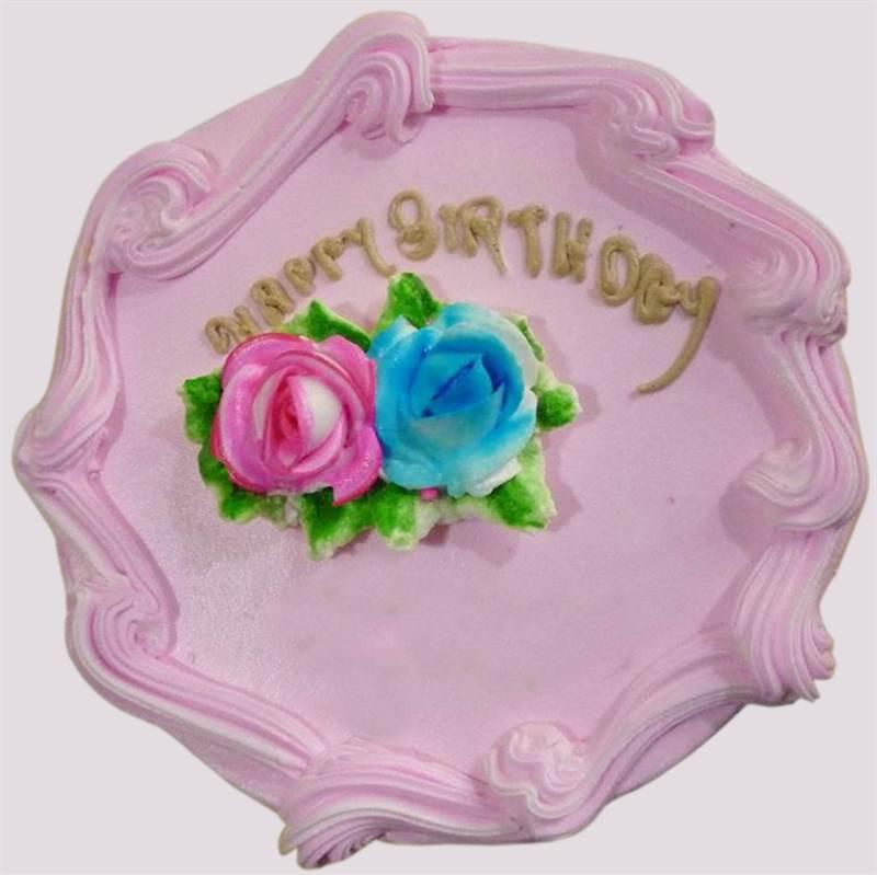 Strawberry Cake (1 Kg) from Little Hunger (CKNPJ001)