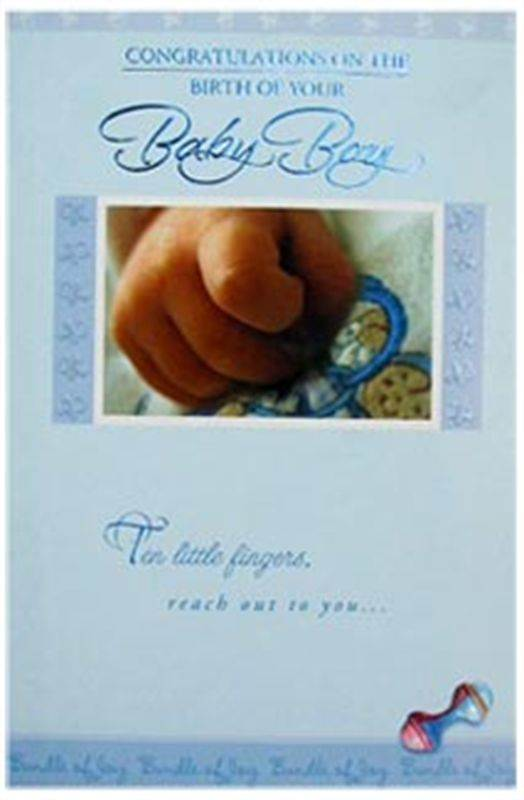 New Baby Card (MICDRN035)