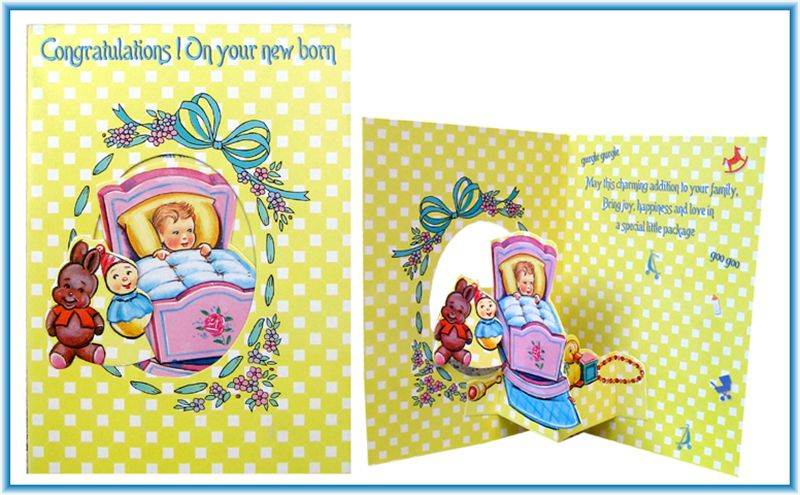 Card For New Baby (MICDRN037)