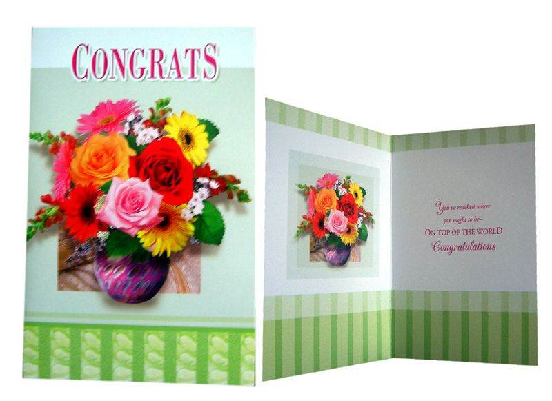 Congratulation Card (MICDRN039)