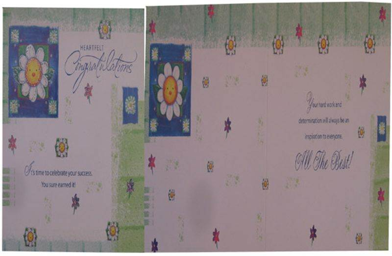 Congratulations Card (MICDRN041)