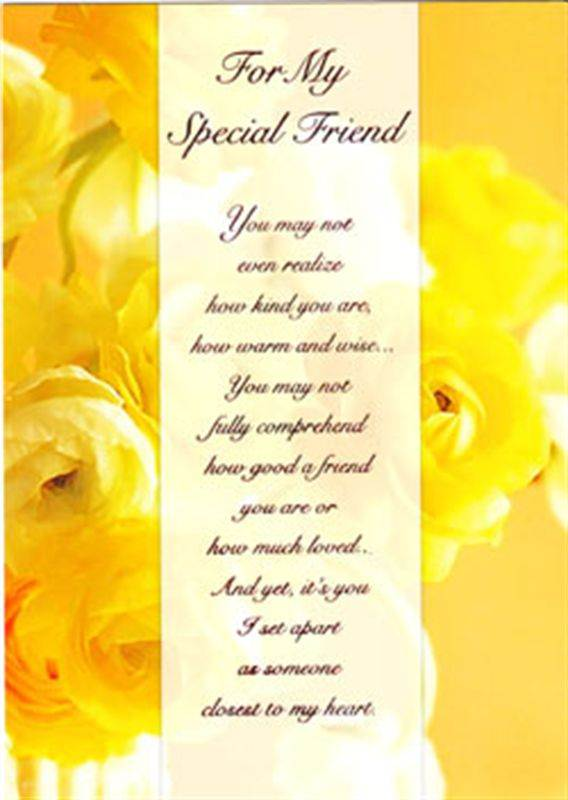 Friend Card (MICDRN044)